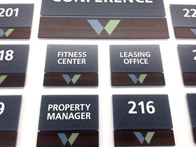 ada compliant interior signs for whetsone