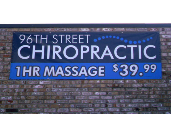 banner for 96th street chiropractic in Indianapolis