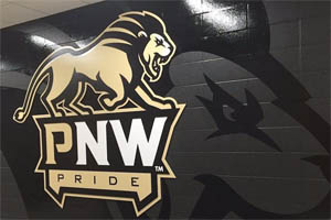 interior wall graphics for Purdue NW