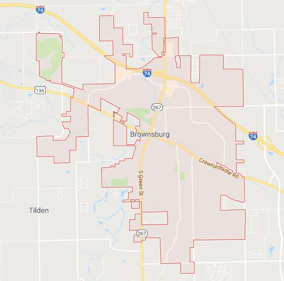 Brownsburg, Indiana sign permits