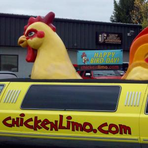Chicken Limo Vehicle Graphics