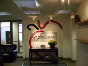 GEO-Foundation-lobby-reception-sign