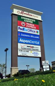 Meridian Market Shoppes Multi-Tenant Pylon