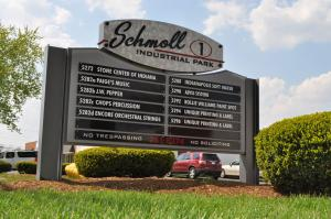 directional-entrance-sign-schmoll-industrial-park