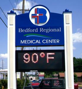 electronic-led-message-center-bedford-regional