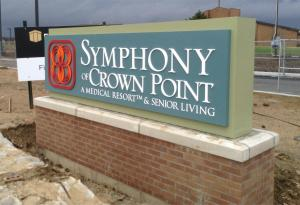 push-thru-acrylic-monument-sign-symphony-of-crown-point-healthcare